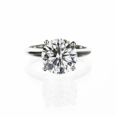 2 Carat Solitaire Engagement Ring