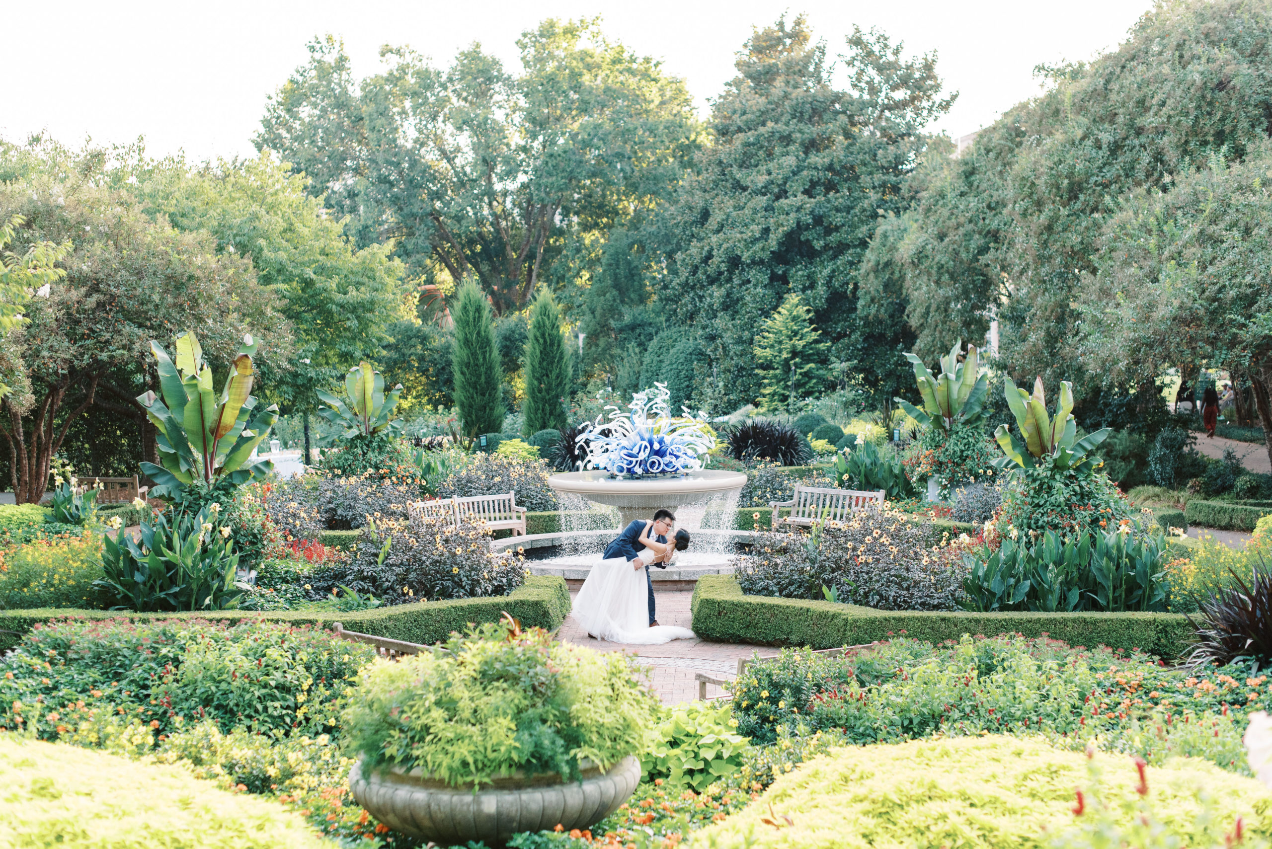 Atlanta Botanical Wedding