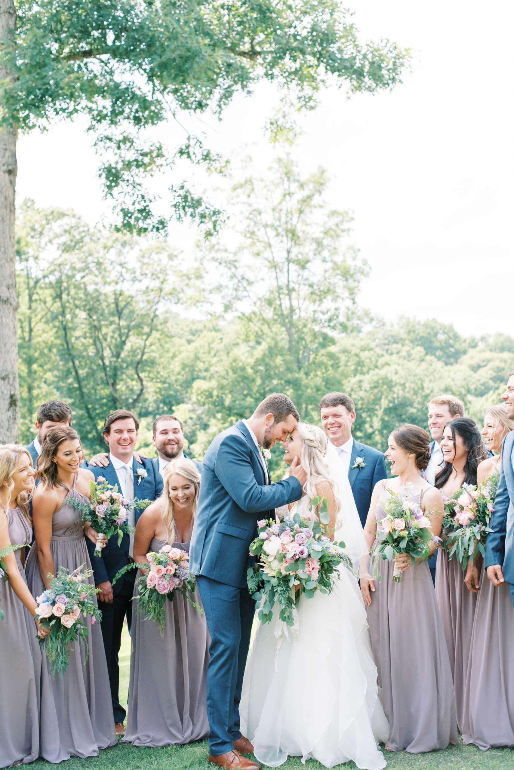 Blue Mountain Vineyard wedding