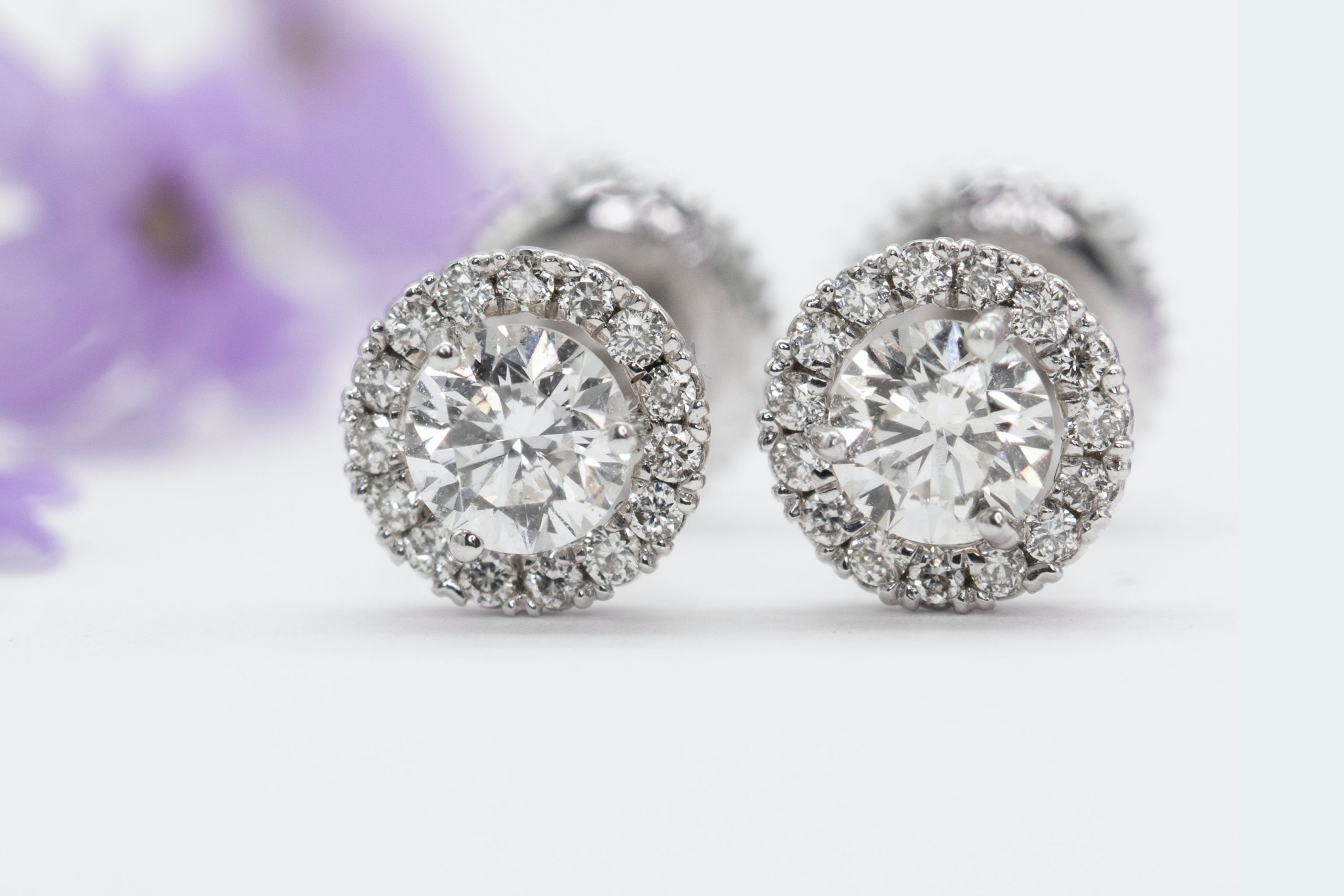 Diamond Earrings In Atlanta, GA